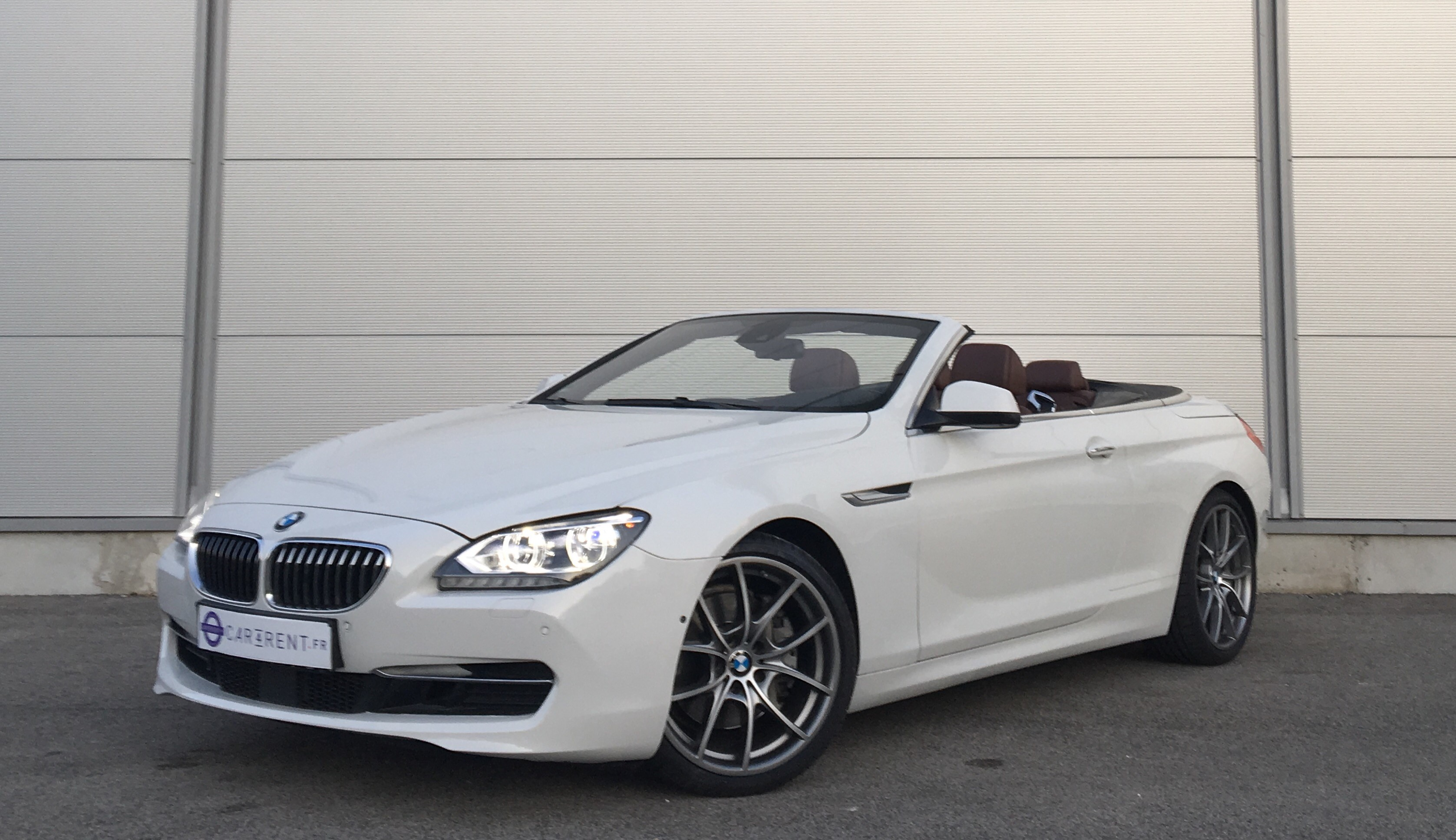 hire bmw 640 convertible cannes thanks to car4rent
