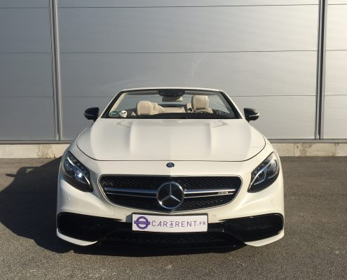 rent mercedes s63 amg convertible Car4rent nice airport