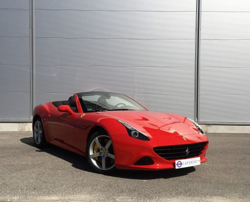 hire ferrari calfornia t red with car4rent