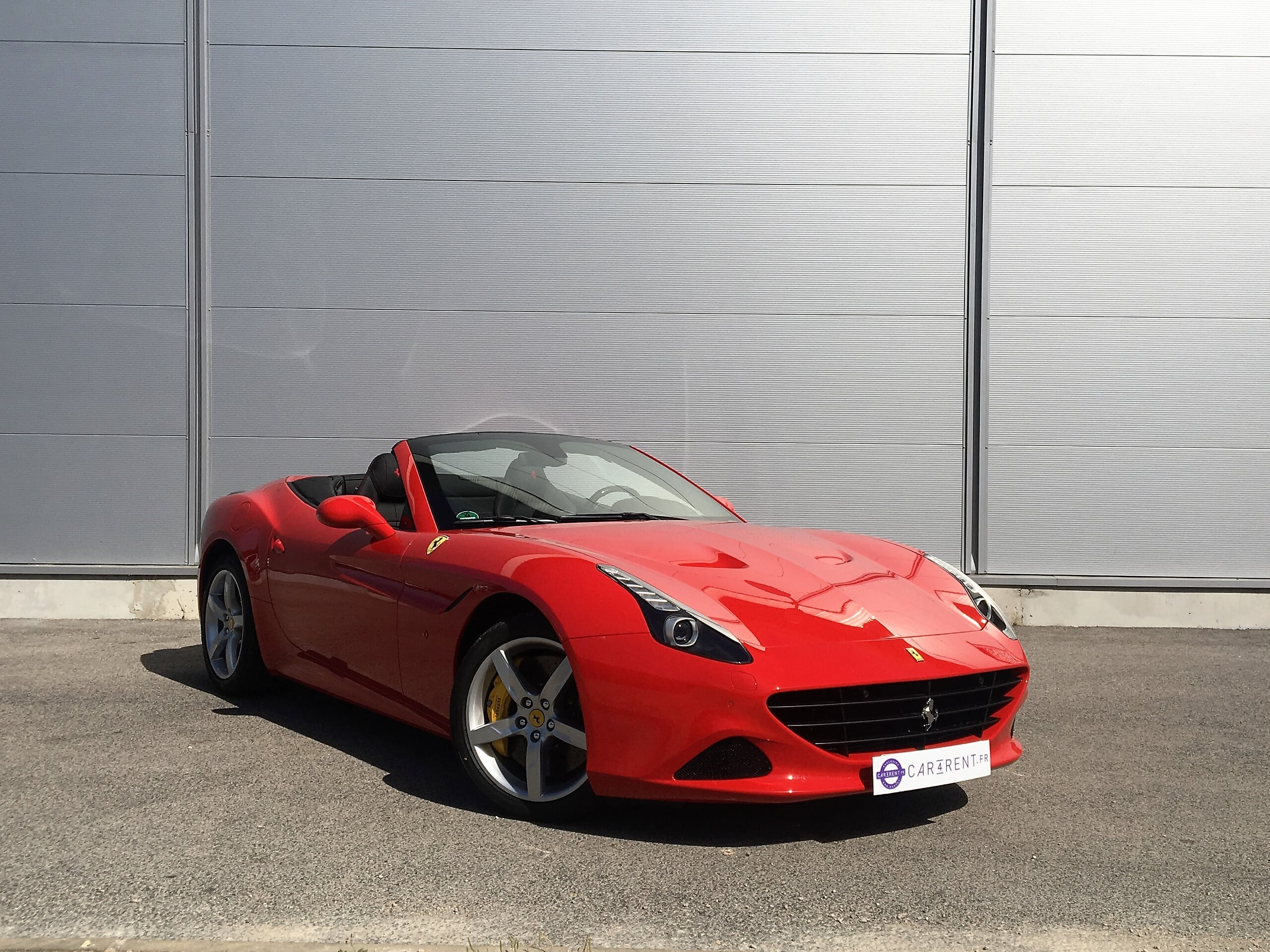 hire ferrari california t french riviera thanks to car4rent