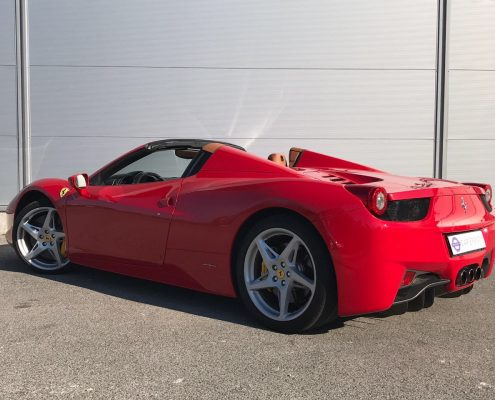 hire ferrari saint-tropez car4rent