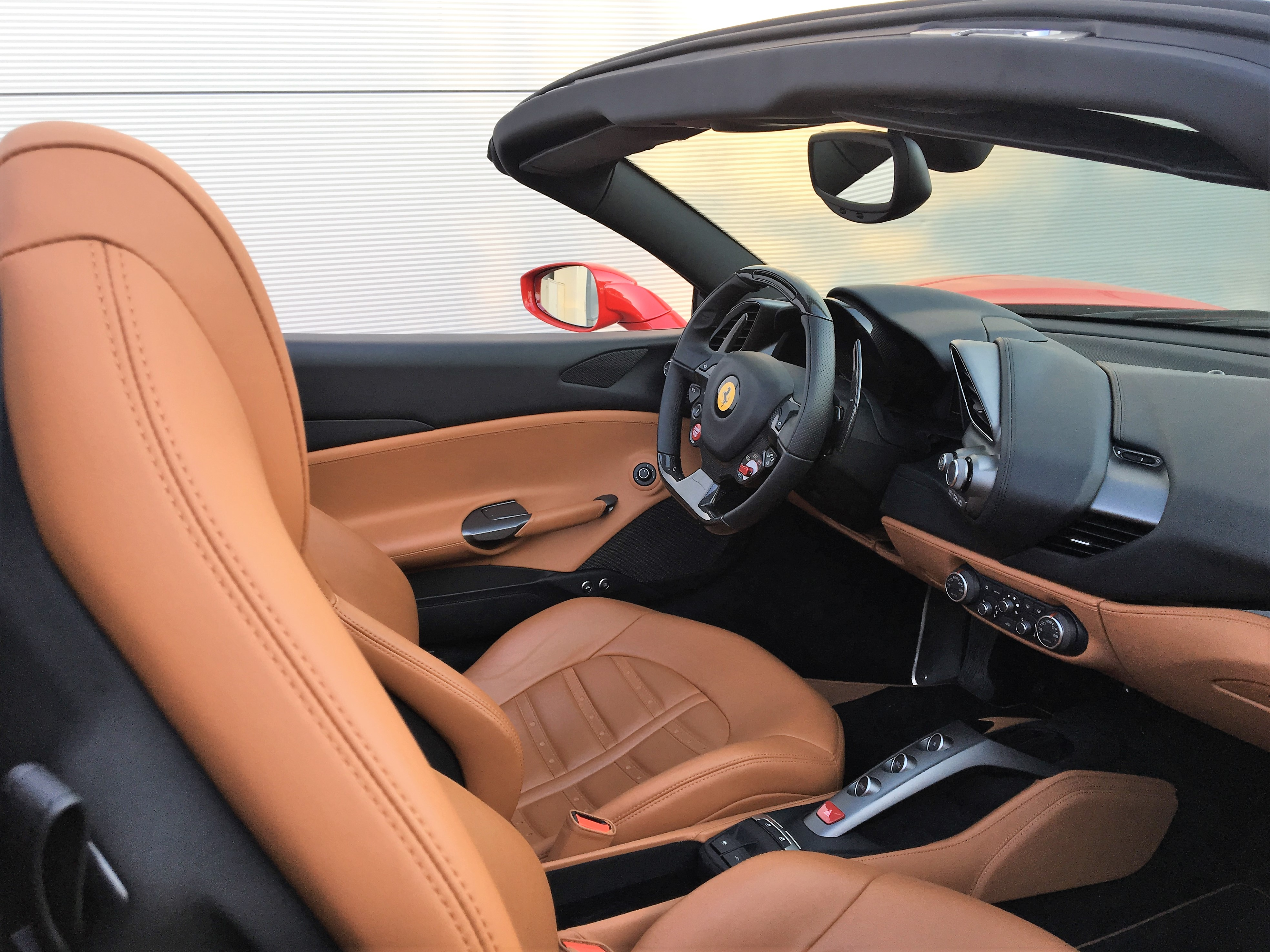 discover ferrari 488 interior car4rent