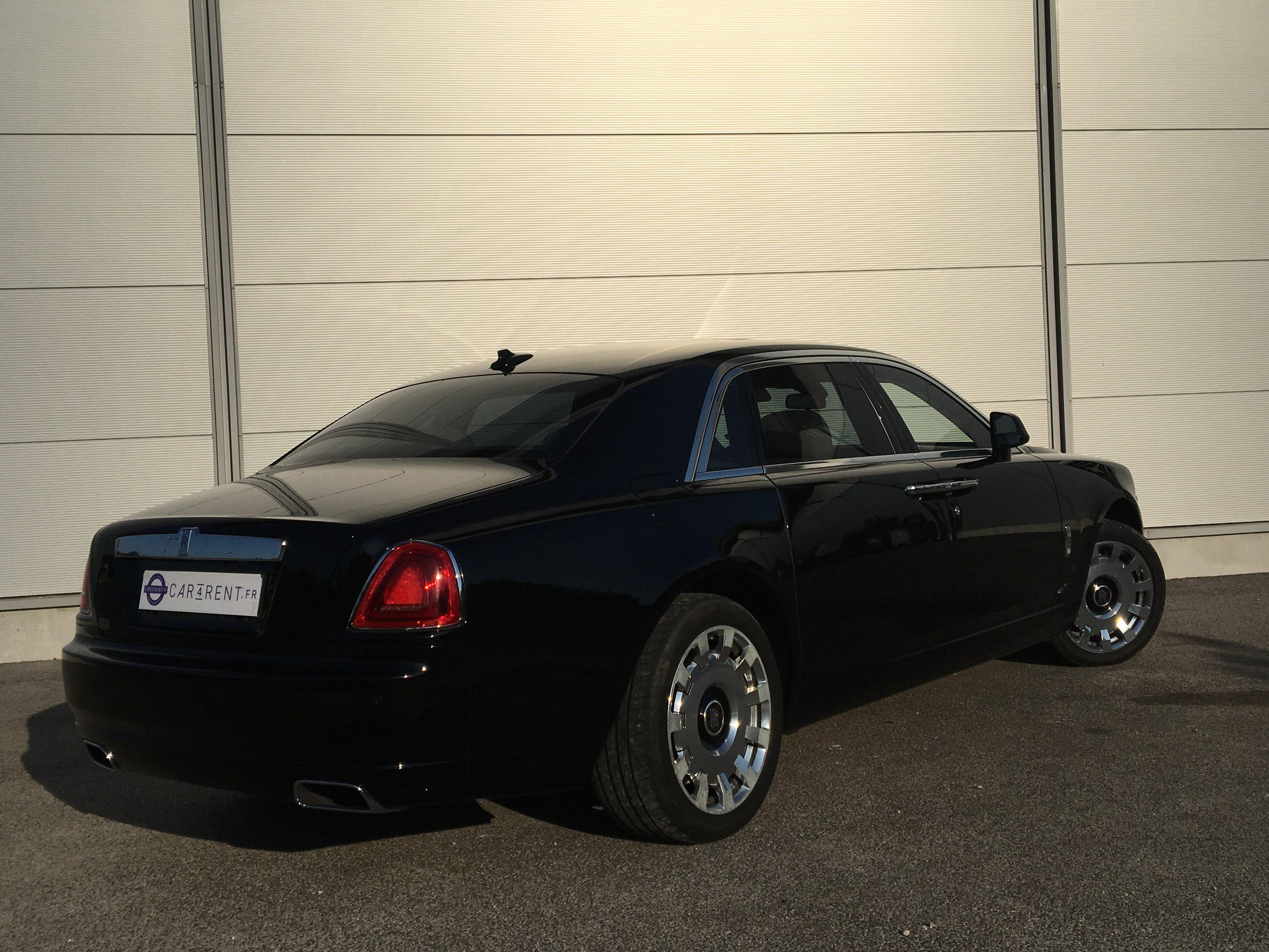 louer rolls royce ghost cote d'azur Car4rent location voiture de prestige