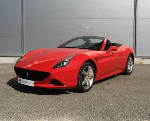 rent ferrari california cannes red Car4rent