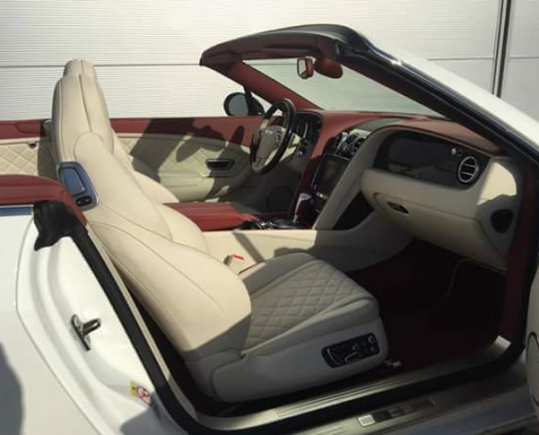 discover interior of bentley continental gtc Car4rent