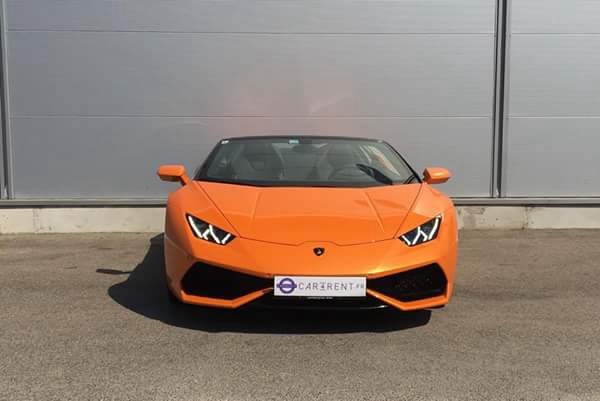 hire lamborghini huracan spider monaco thanks to car4rent