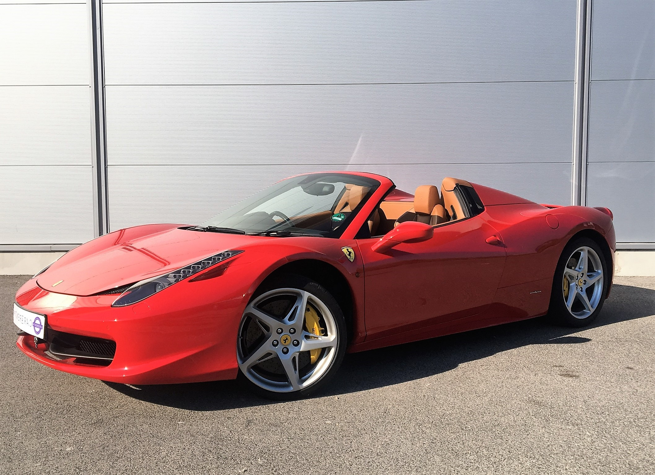 hire ferrari 458 spider cannes