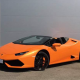 rent lamborghini huracan spider cannes thanks to car4rent