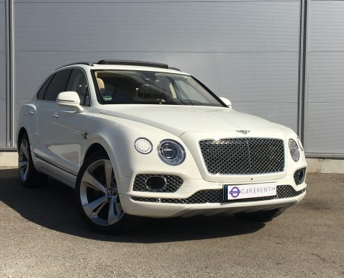 louer bentley bentayga aéroport de nice Car4rent location voiture de prestige