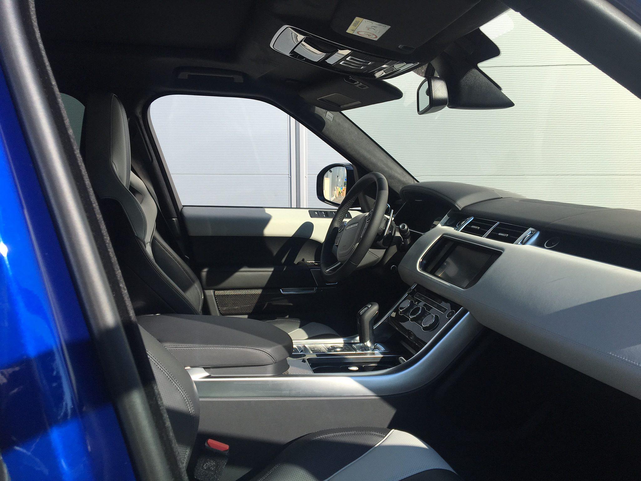 rent premium suv south france car4rent range rover