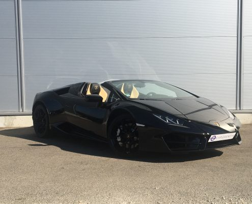 rent lamborghini huracan spyder Car4rent nice airport