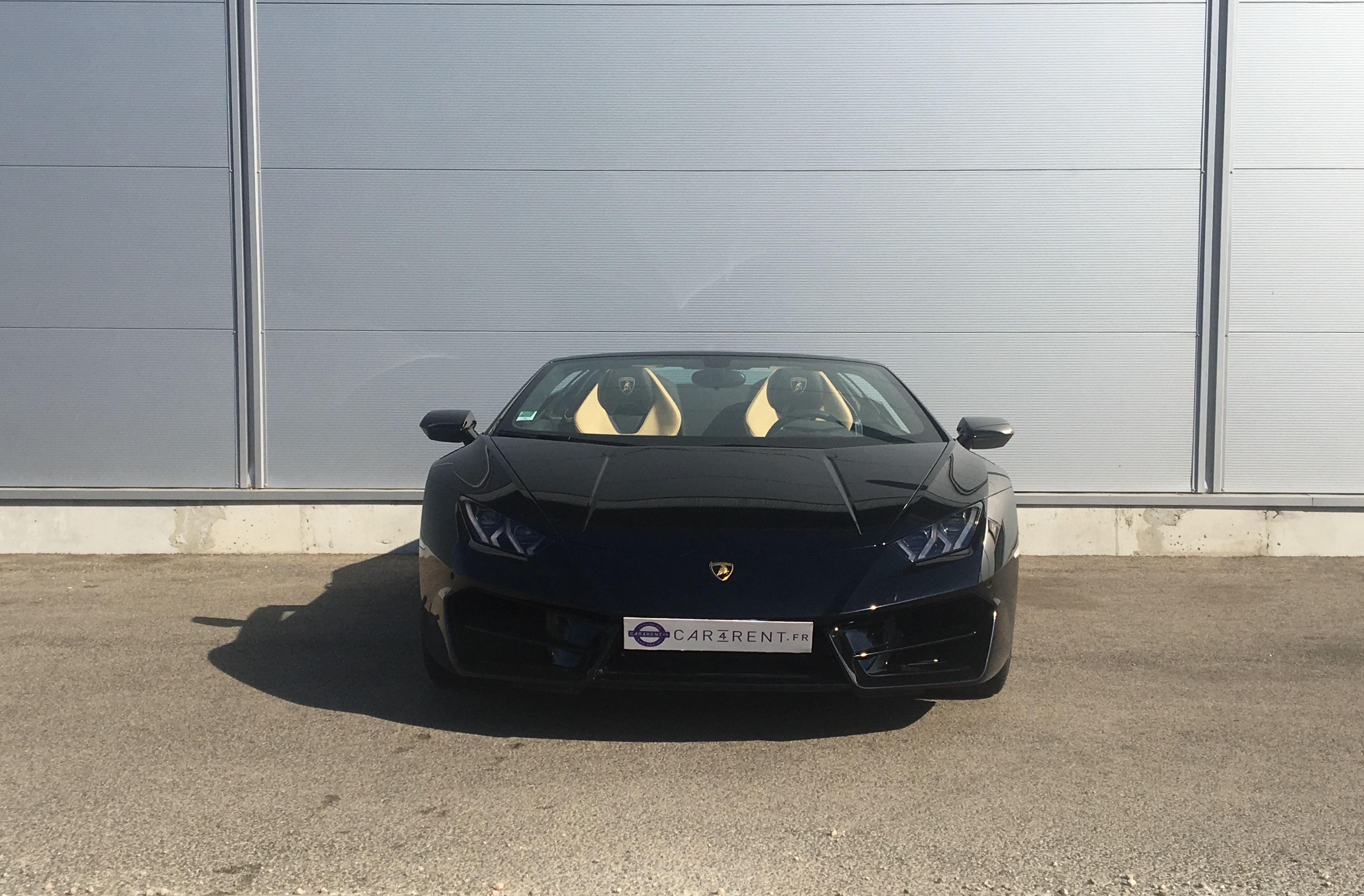 rent lamborghini huracan spyder Car4rent monaco