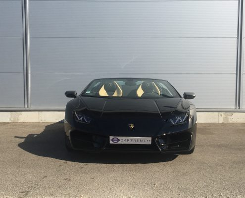 rent a lamborghini huracan spyder Car4rent Saint-tropez