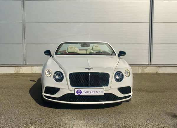 Rent Bentley Continental GTC French Riviera thanks to Car4rent