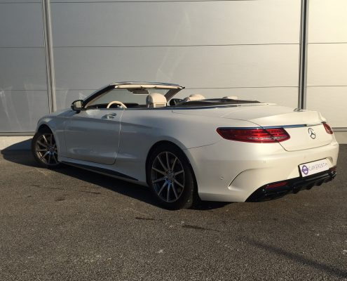hire a mercedes s63 amg convertible Car4rent Cannes