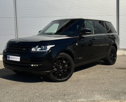 hire luxury car rental monaco range rover autobiography