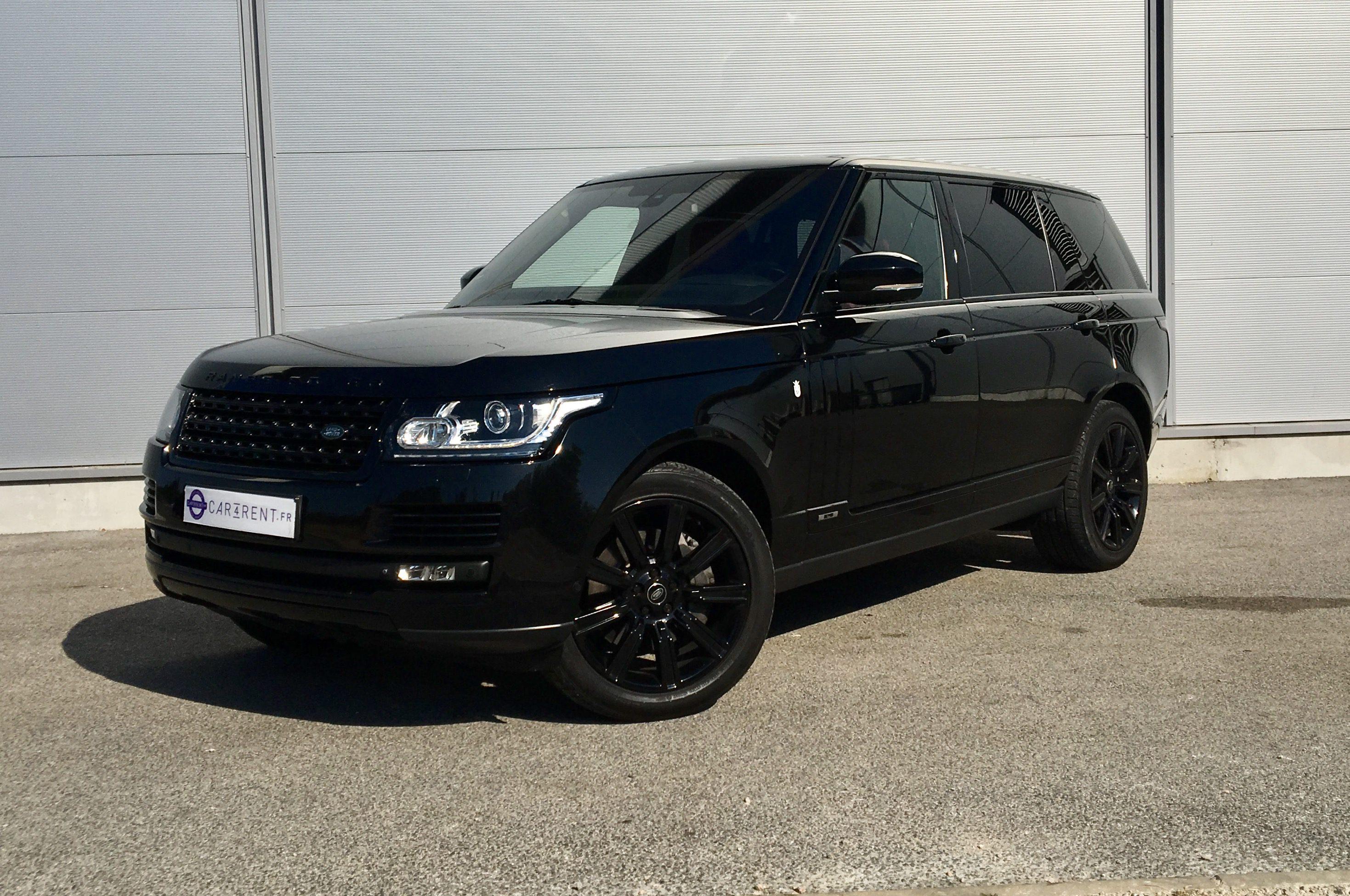 hire luxury car rental monaco range rover autobiography