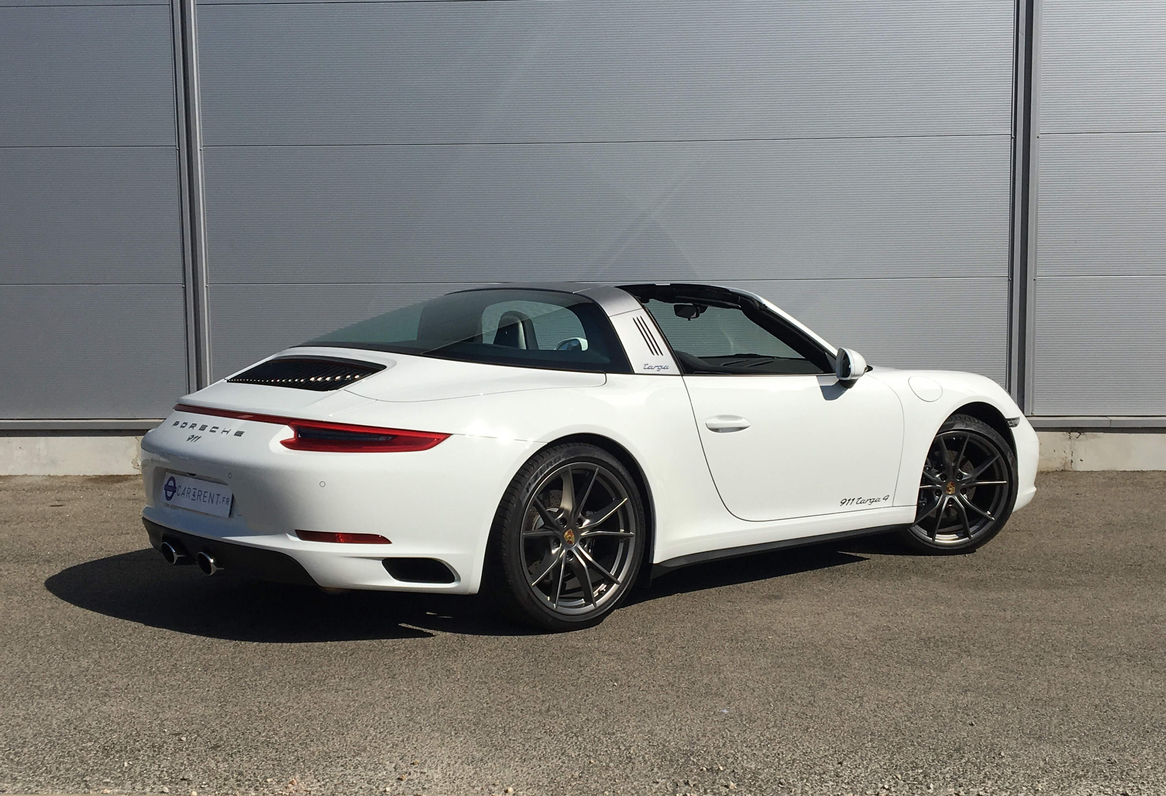 hire posrche 911 targa car4rent Saint-tropez