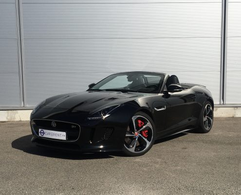 Rent Jaguar F-Type Car4rent Luxury car rental monaco