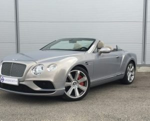 Experiencias de conduccion Bentley Continental GTC Car4rent Cannes Costa azul
