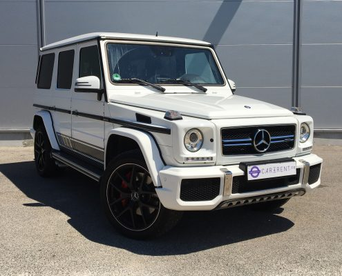 Car4rent 4x4 rental cannes mercedes g63 long