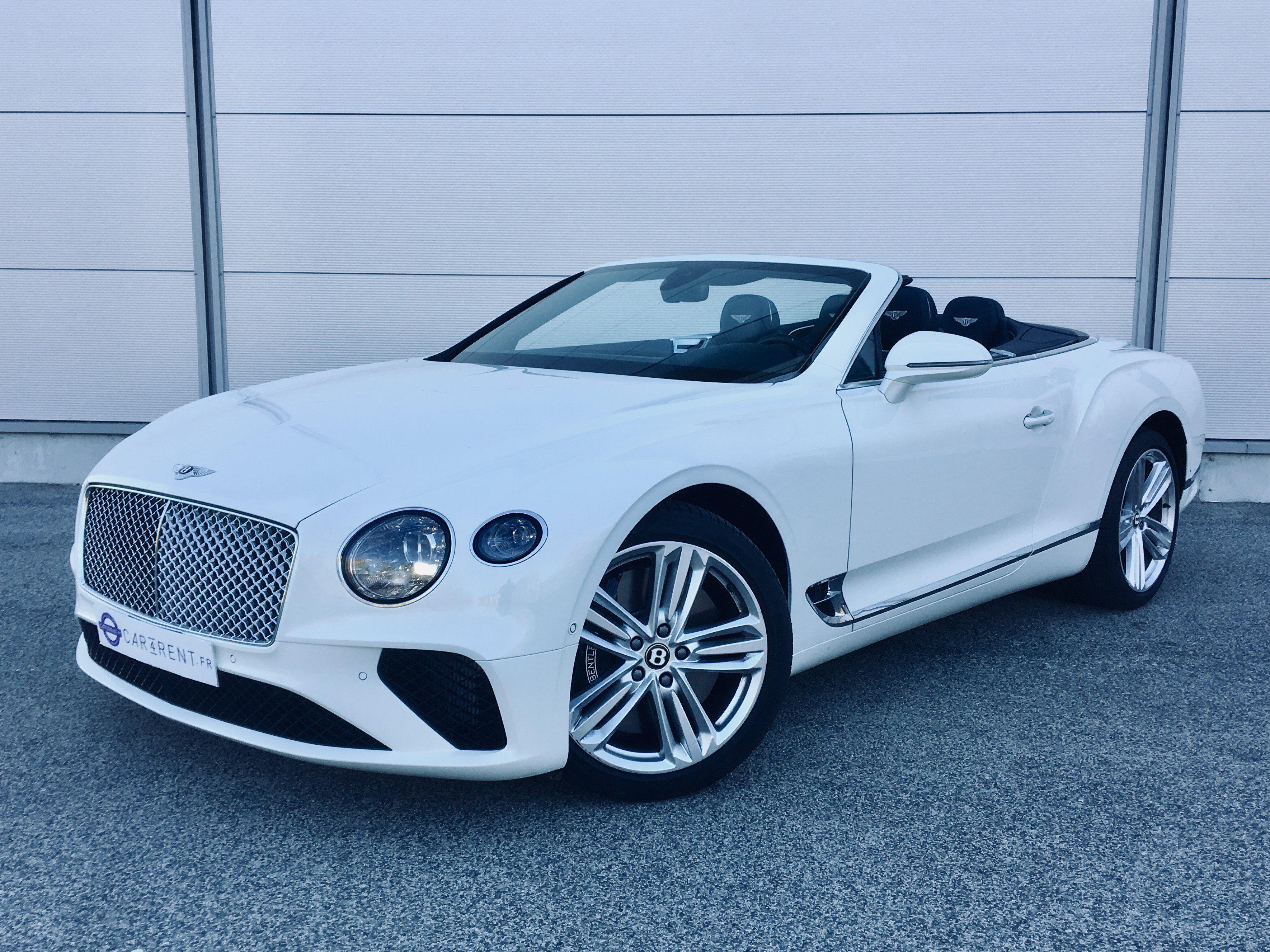 Bentley convertible rental