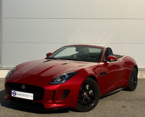 hire jaguar f-type convertible car'rent luxury car rental monaco