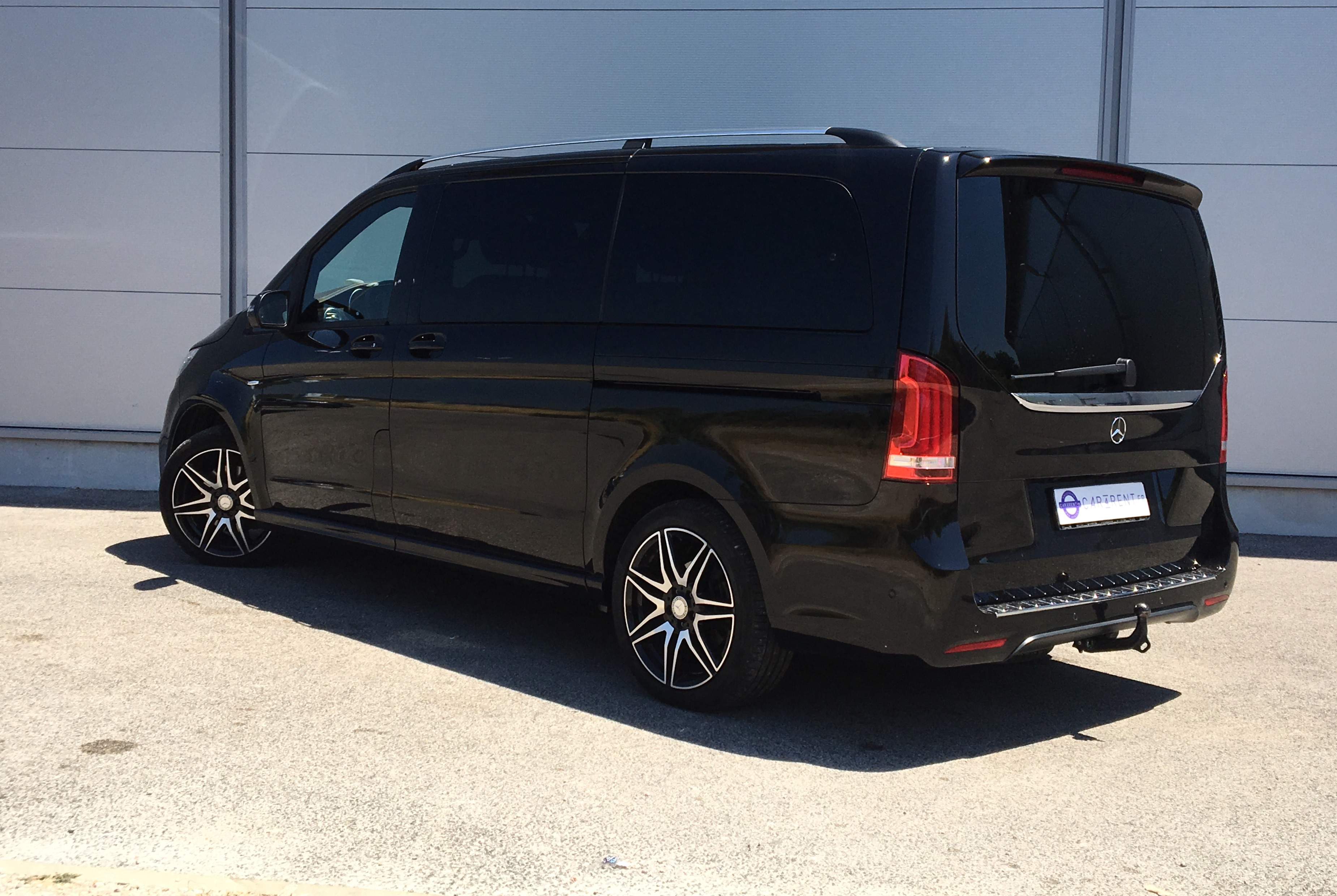 mercedes v class amg 250d 4 matic long car4rent. Black Bedroom Furniture Sets. Home Design Ideas