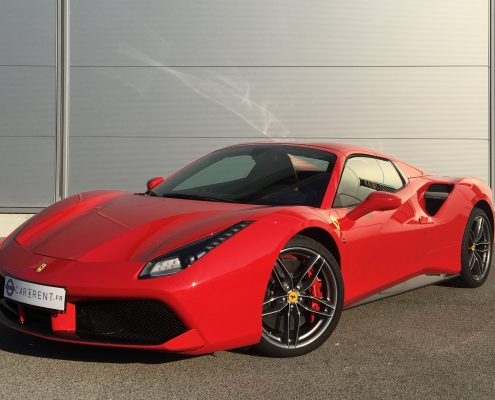 rent ferrari 488 spider cannes