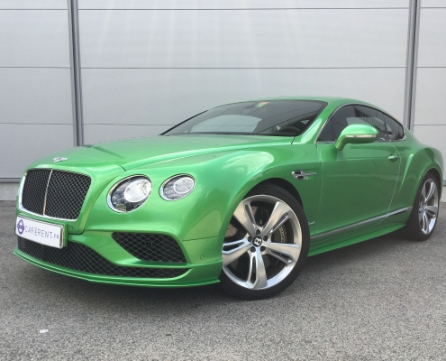 Car4rent Bentley speed