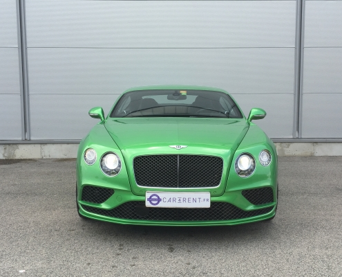 Car4rent Cannes Bentley speed