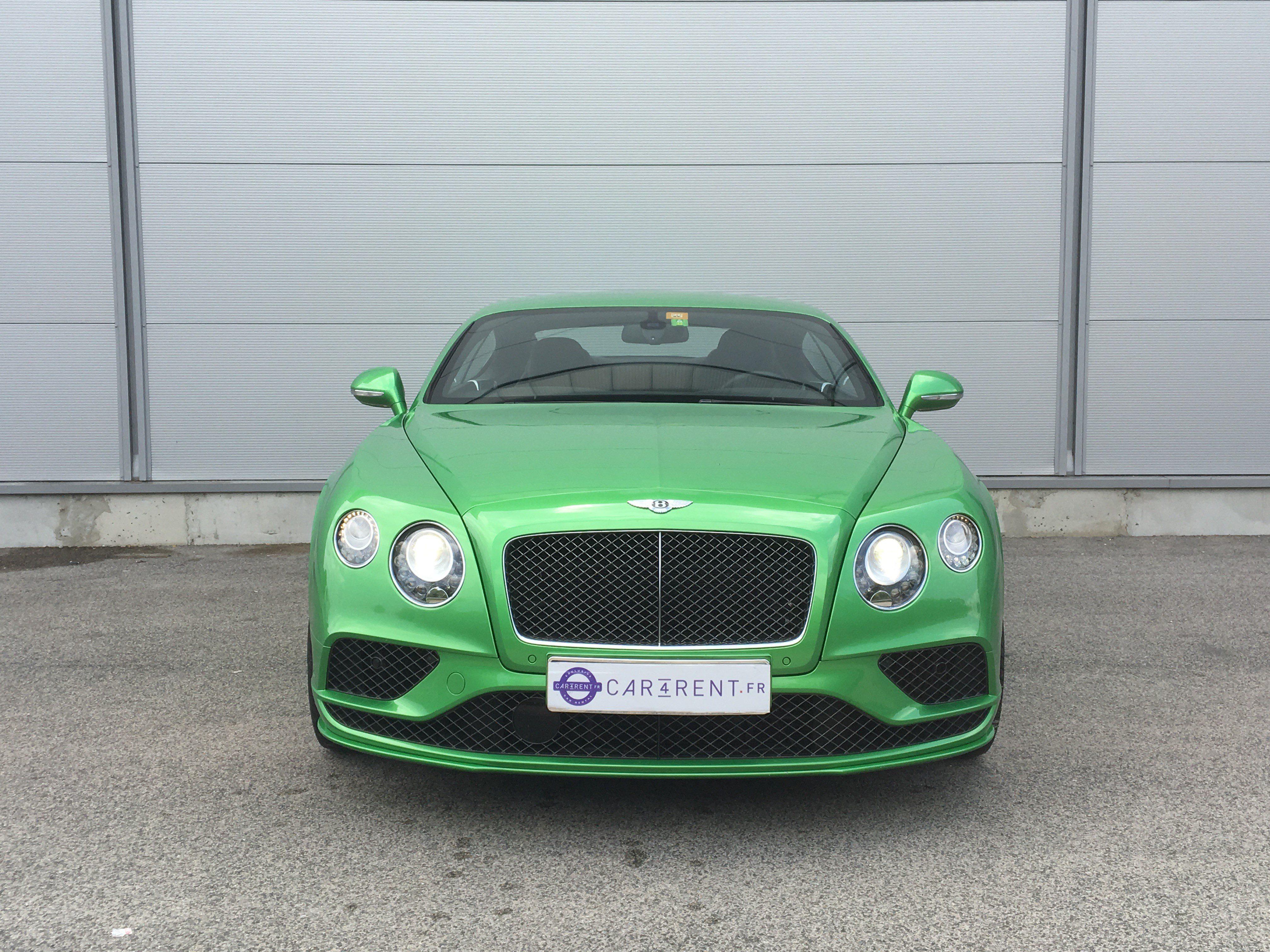 Car4rent Cannes Bentley speed