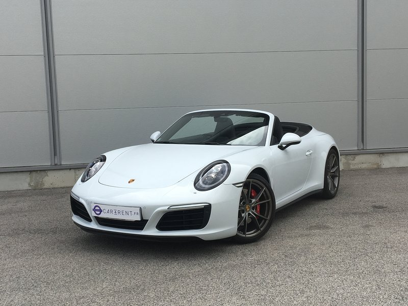 Car4rent Luxury Car Hire Cannes Porsche Carrera 4s Convertible