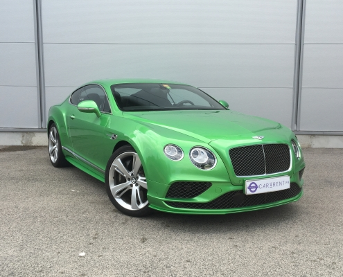 Car4rent Monaco Bentley speed