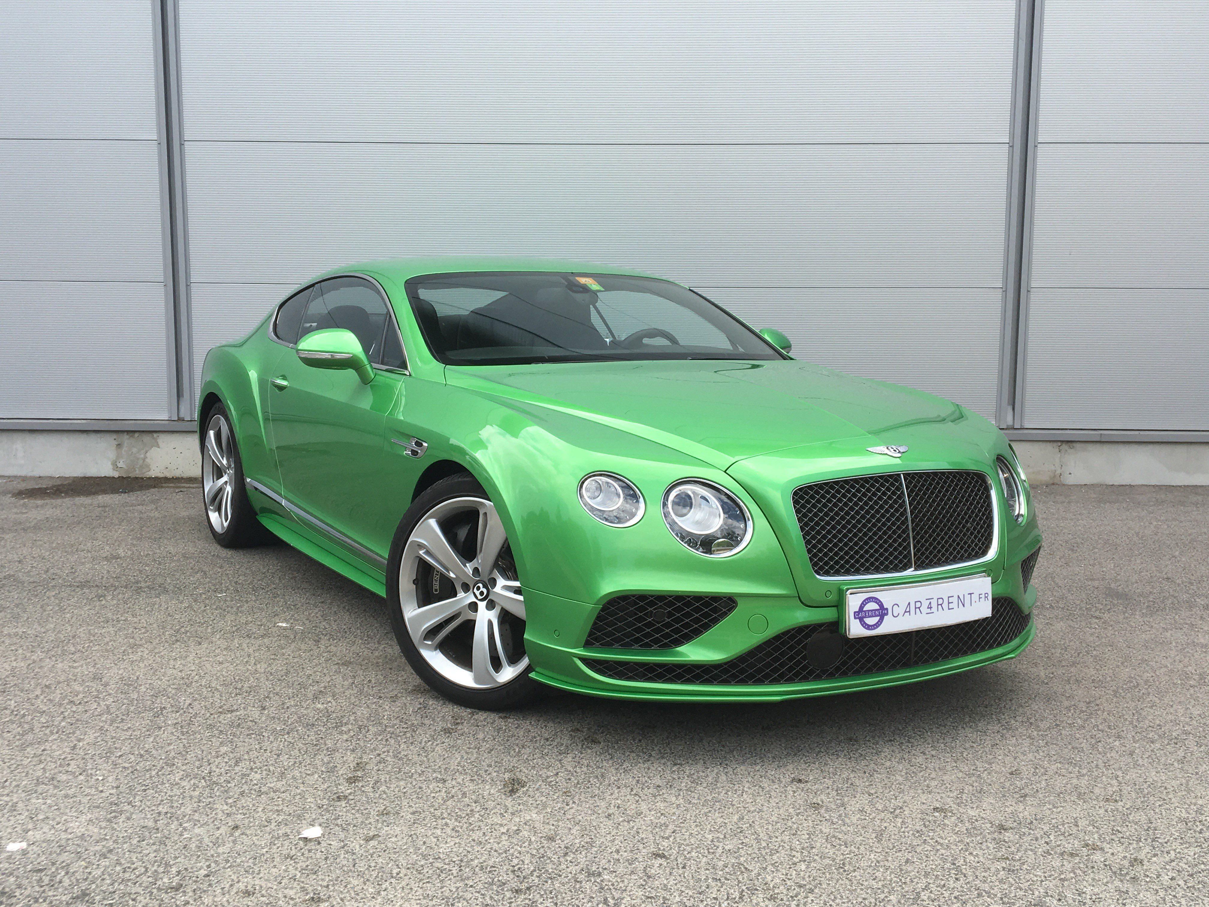 Car4rent Monaco Bentley speed