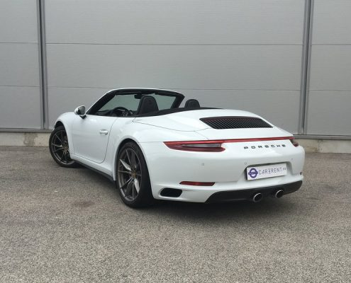 Car4rent Porsche Carrera 4s cabriolet Location Rental Cannes