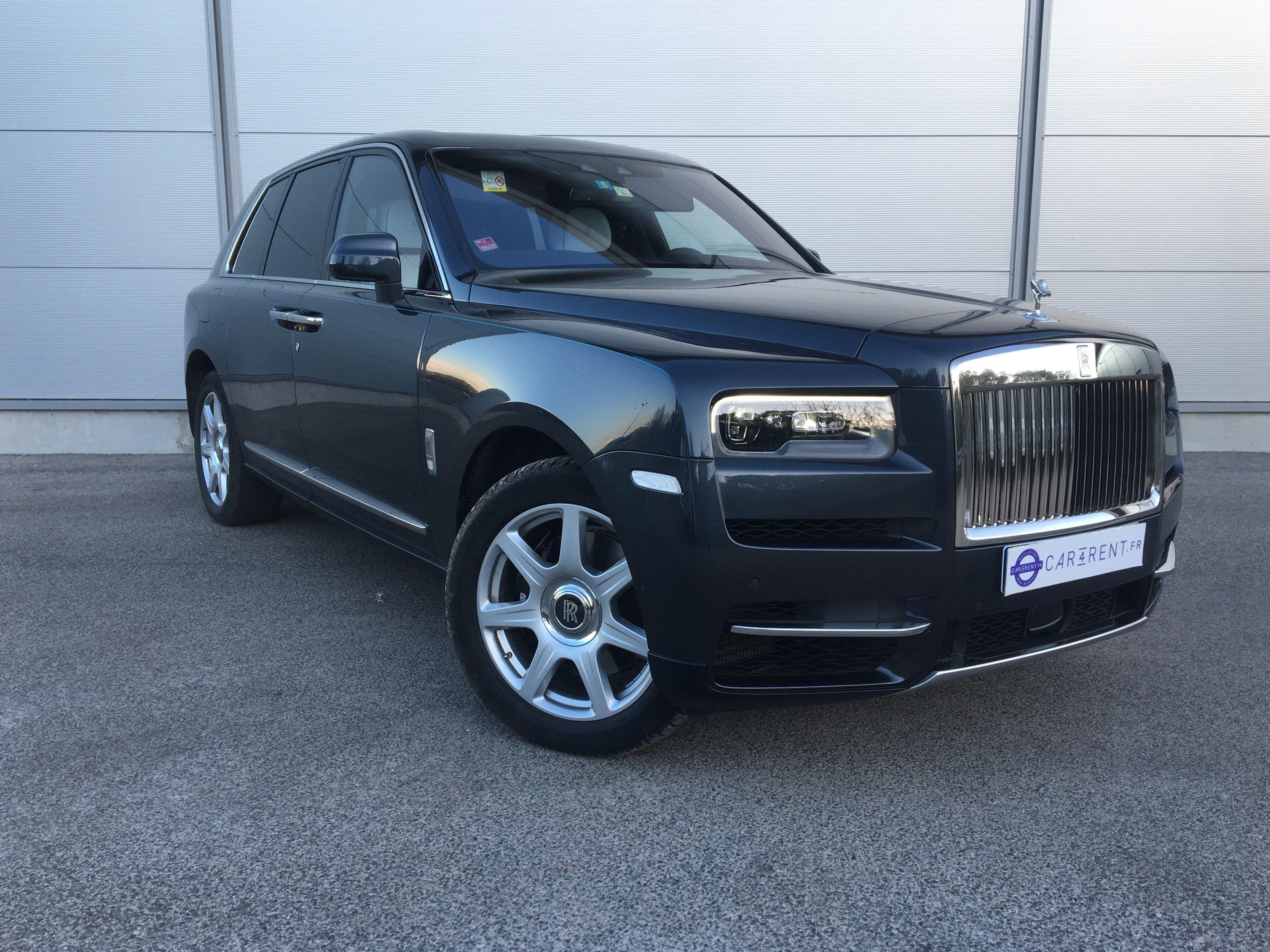 Rolls royce Cullinan hire Monaco