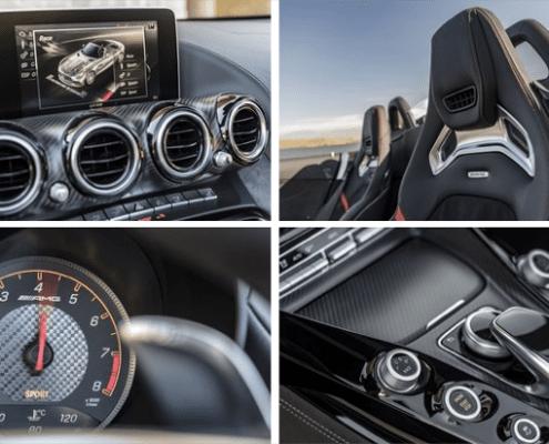 reserver mercedes E220d cabrio details interieur