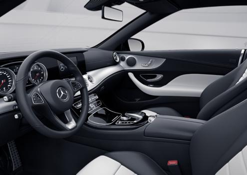 E220d cabrio intérieur car4rent location voiture de sport cabriolet