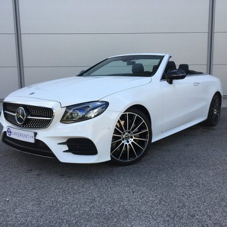 Hire Mercedes E-Class convertible Cannes Car4rent
