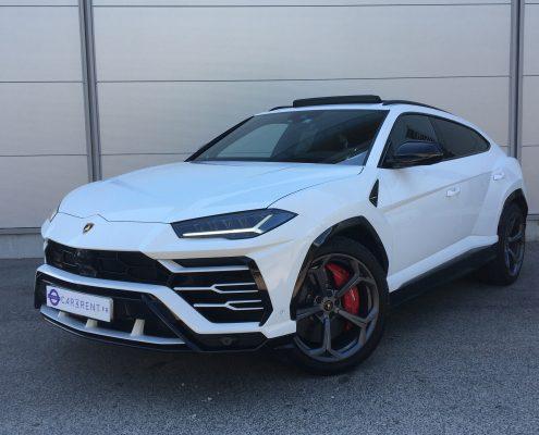 Lamborghini Urus for rent