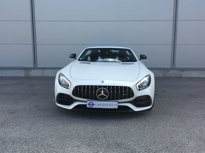 Mercedes AMG GT Roadster à louer cannes Car4rent