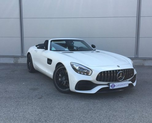Location Mercedes AMG GT Roadster Cannes Car4rent
