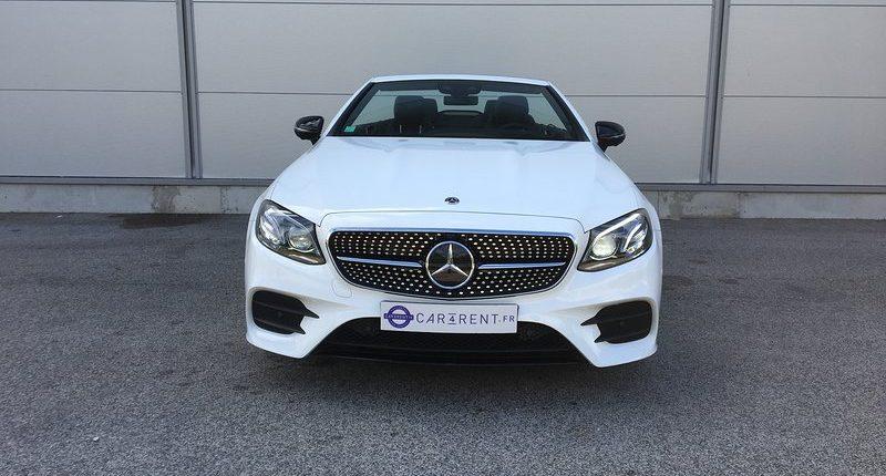 Mercedes E-Cabriolet à louer Car4rent Cannes