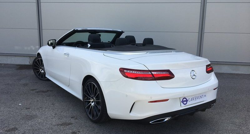 Mercedes E-Cabriolet à louer Saint-Tropez Car4rent