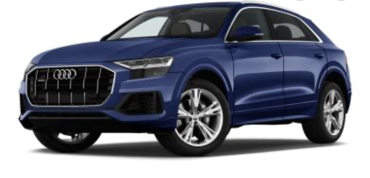 audi q8 rental french riviera car4rent