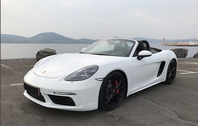 Car4rent Location cabriolet Saint-Tropez Porsche boxster S