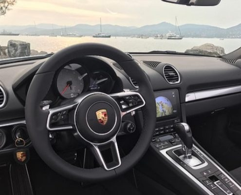 boxster s interieur car4rent saint tropez