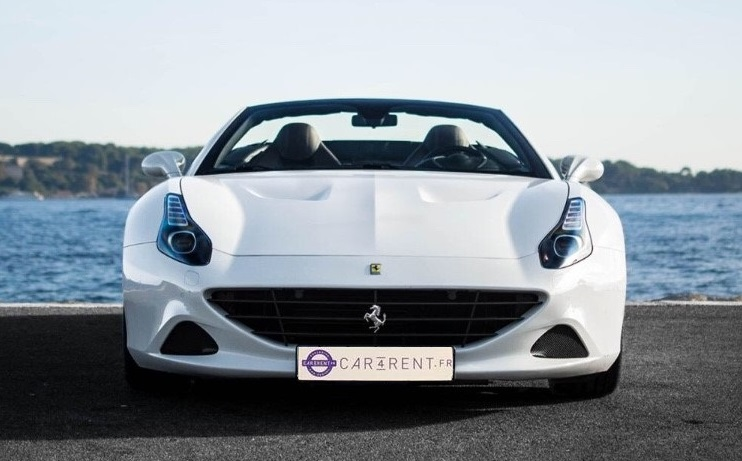 hire ferrari california cannes palm beach car4rent french riviera