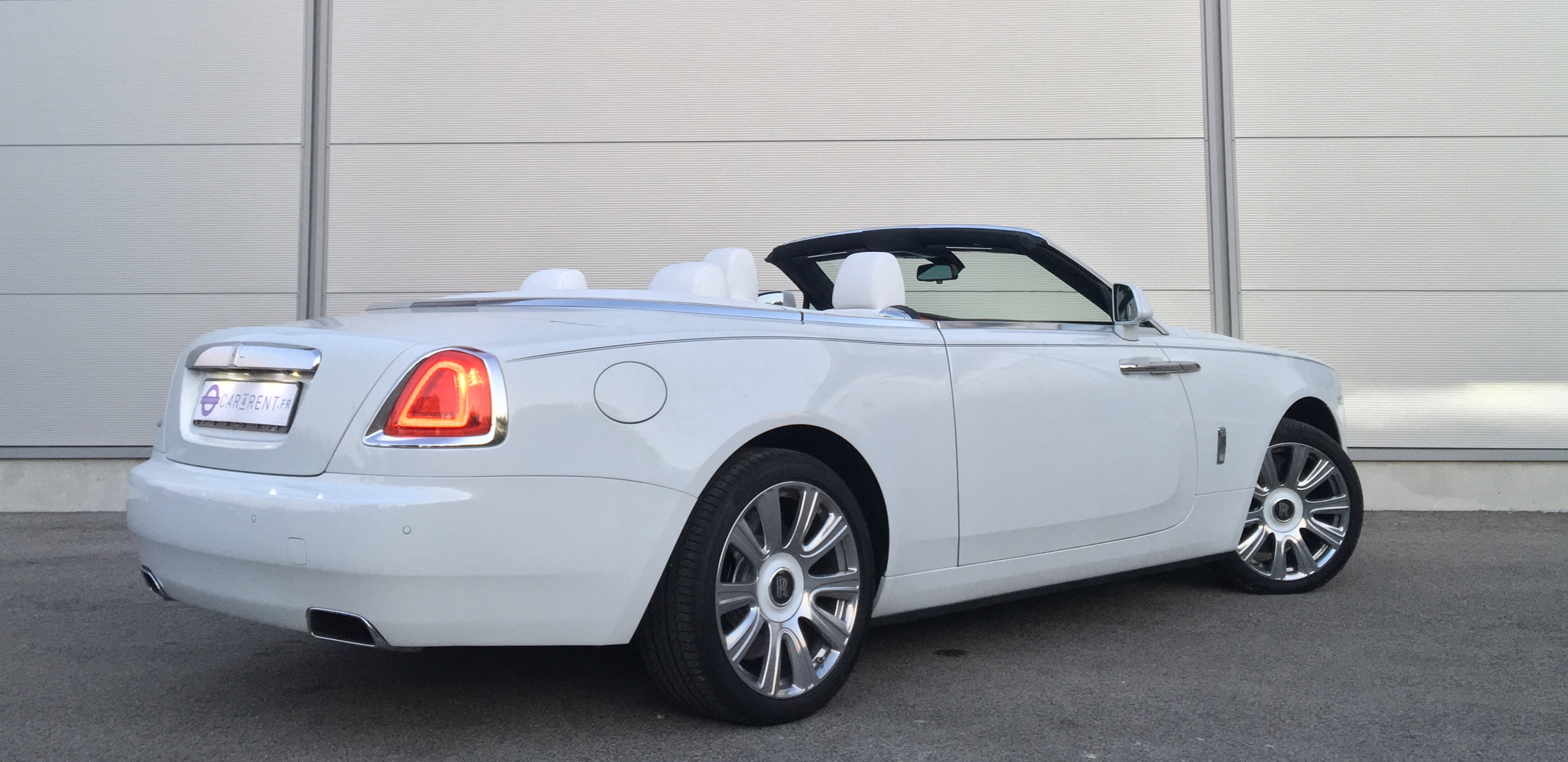 Rent rolls royce dawn cannes french riviera